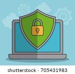 data center design | Shutterstock .eps vector #705431983