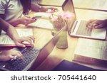blurred images of university... | Shutterstock . vector #705441640