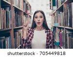 eureka  have an idea  success... | Shutterstock . vector #705449818
