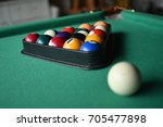 pocket ball | Shutterstock . vector #705477898