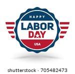 vector illustration of happy... | Shutterstock .eps vector #705482473