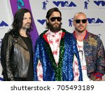 jared leto  shannon leto and... | Shutterstock . vector #705493189