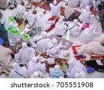 mecca  saudi arabia   november... | Shutterstock . vector #705551908