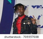 Small photo of LOS ANGELES - AUG 27: Lil Uzi Vert at the MTV Video Music Awards 2017 at The Forum on August 27, 2017 in Inglewood, CA