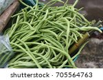 vegetables are for sale in... | Shutterstock . vector #705564763