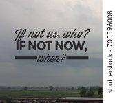 quote on life. best... | Shutterstock . vector #705596008