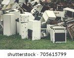 Dump Of Scrap Metal And...