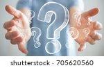 businessman on blurred... | Shutterstock . vector #705620560