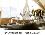 champagne glass   wine glass  ... | Shutterstock . vector #705623104