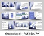 multipurpose business...   Shutterstock .eps vector #705650179