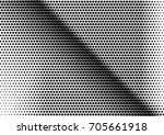 abstract halftone dotted grunge ... | Shutterstock .eps vector #705661918