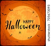 abstract halloween background... | Shutterstock . vector #705673093