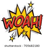 comic book effect. | Shutterstock .eps vector #705682180