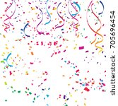 colorful celebration background ... | Shutterstock .eps vector #705696454