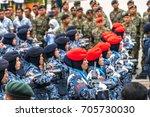 kuala lumpur  malaysia   august ... | Shutterstock . vector #705730030