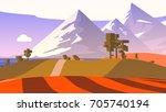 farmland rural cartoon