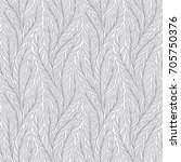 hand drawn pattern with... | Shutterstock .eps vector #705750376
