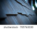 Close Up Roof Wood.