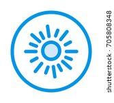 kiwi icon | Shutterstock .eps vector #705808348