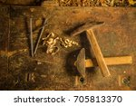 old tools | Shutterstock . vector #705813370