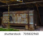 The Old Rusty Gasoline Tank...