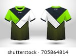 green and black layout football ... | Shutterstock .eps vector #705864814