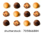 top view of assorted fresh... | Shutterstock . vector #705866884