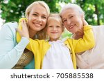 family  generation and people... | Shutterstock . vector #705885538