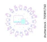 Shutterstock Eps Vector 705891760