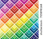 colourfuls polygonal mosaic... | Shutterstock .eps vector #705898168