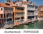 beautiful venice city at...   Shutterstock . vector #705933328