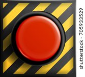 panic button. red alarm shiny... | Shutterstock . vector #705933529