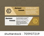 set of abstract banners....