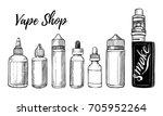 hand drawn vector illustrations.... | Shutterstock .eps vector #705952264