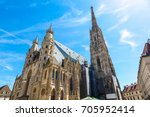 st. stephen's cathedral in... | Shutterstock . vector #705952414