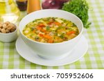 soup. | Shutterstock . vector #705952606
