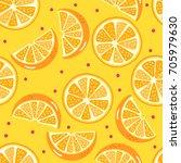 orange pattern | Shutterstock .eps vector #705979630