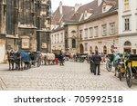 vienna  austria   october 07 ... | Shutterstock . vector #705992518