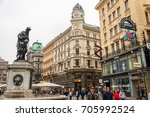 vienna  austria   october 07 ... | Shutterstock . vector #705992524
