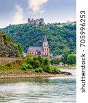 schonburg castle and... | Shutterstock . vector #705996253