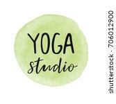 vector illustration for an yoga ... | Shutterstock .eps vector #706012900