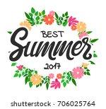 vector hand written lettering... | Shutterstock .eps vector #706025764