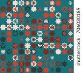 geometric pattern design  | Shutterstock .eps vector #706030189