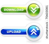 download button set. vector set ...