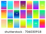 soft color gradients background.... | Shutterstock .eps vector #706030918