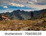 hiking banff canada | Shutterstock . vector #706038133