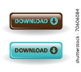 download buttons   brown and...   Shutterstock .eps vector #70606084