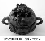 a bronze incense burner with... | Shutterstock . vector #706070440