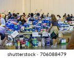 houston  texas  august 30  2017 ... | Shutterstock . vector #706088479