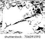 background black and white ... | Shutterstock .eps vector #706091593